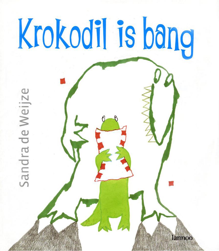 Prentenboek Krokodil is bang